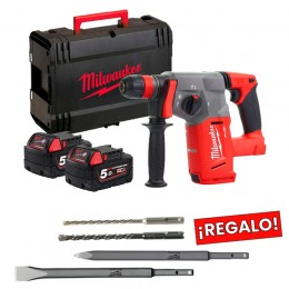 Martillo SDS-PLUS FUEL Milwaukee M18CHX-502X