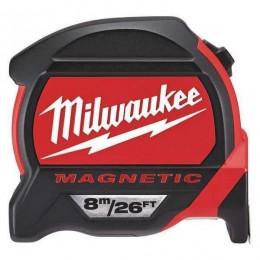 Flexómetro HQ magnético 8m x 27 métrico