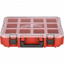 Organizador apilable y junta estanca con 10 compartimentos