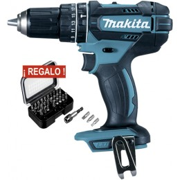 Taladro Combinado Makita 18V Litio-ion