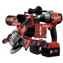MILWAUKEE PACK M18 FPD-502X / M18 CAG 125 XPD-0 FUEL