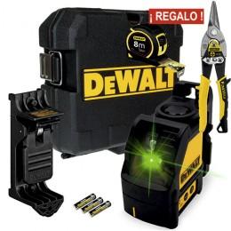 Combo DeWalt Láser DW088CG-XJ / Corte RectoStandley / Flexómetro Standley
