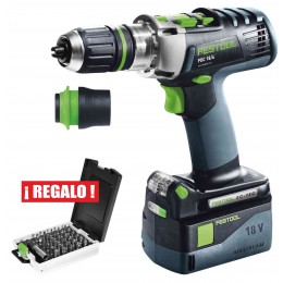 FESTOOL PDC18/4 LI 5,2-PLUS QUADRIVE